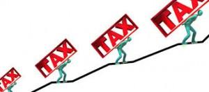 tasse in aumento